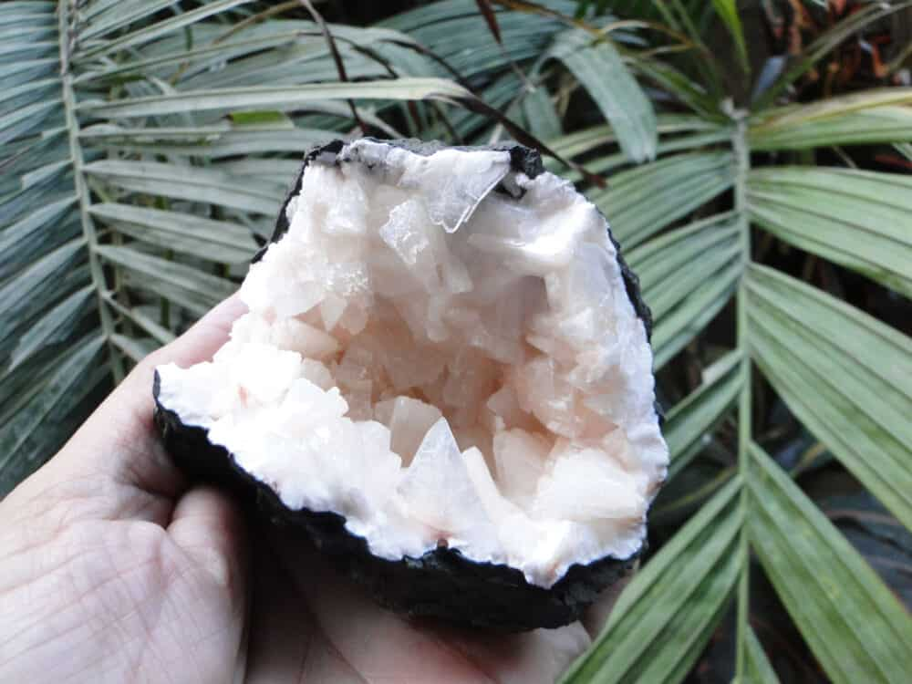 Peach Heulandite Crystals Cave Cluster Nature's Crest MIN-003 ₹5,650.00
